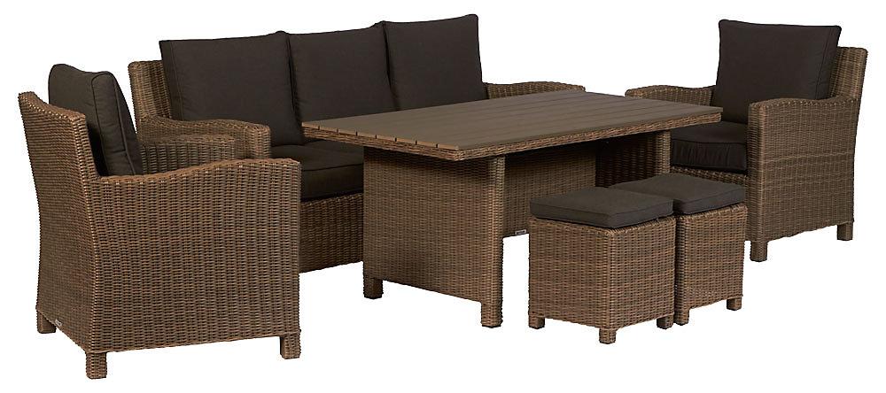 Home U003e Outdoor Furniture U003e Shop By Brand U003e Kettler U003e Kettler Palma 6 Piece  Lounge Set