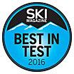 SKI Magazine - Best in Test Award Winner