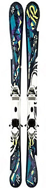 K2 Lotta Luv w/ERS 11.0 TC Binding System Ski - Women's - 10/11