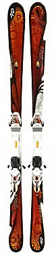 K2 Burnin Luv w/ERS 11.0 TC Binding System Ski - Women's - 10/11