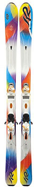 K2 Superstitious Ski with ERS 11 System Ski - Women's - 2012/2013