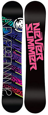 Never Summer Pandora Grom Snowboard - Junior - Sale - 2012/2013