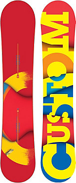 Burton Custom Restricted Snowboard - Men's - 2011/2012