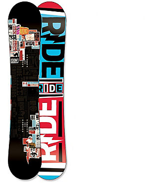 Ride Manic Snowboard - Men's - 2011/2012