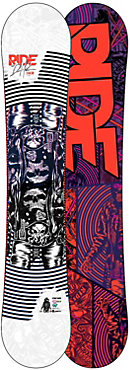 Ride DH2 Snowboard - Men's - Sale - 2012/2013