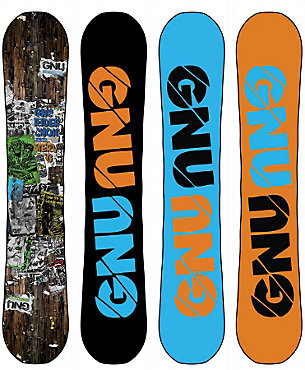 GNU Riders Choice Snowboard - Men's - Sale 2013/2014