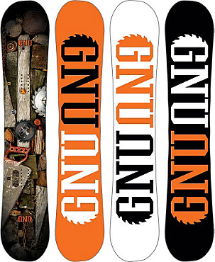 Gnu Riders Choice Snowboard - Men's  - 2015/2016