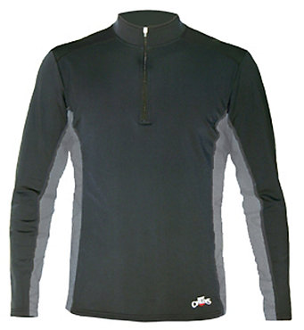 Hot Chillys Micro Elite Panel Zip-T - Men's