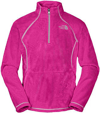 The North Face Mossbud 1/4 Zip - Junior Girl's