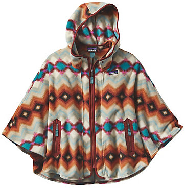 Patagonia Light Weight Synchilla Poncho - Women's - 2016/2017