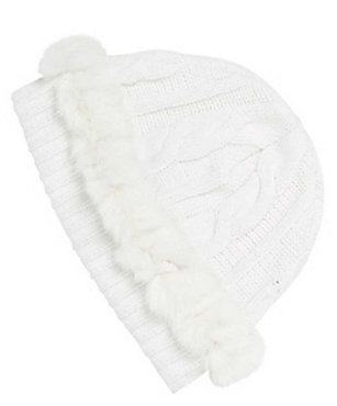 Nils Solid Hat w/Fur - Women's