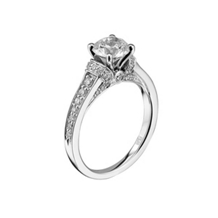 Charisma Scott Kay Diamond Engagement  Ring