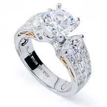 Simon G Gorgeous Diamond Engagement Ring