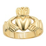 Lieberfarb 14kt Gold Irish Claddagh Ring