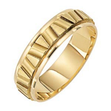 Lieberfarb 14 Karat Solid Gold Wedding Band