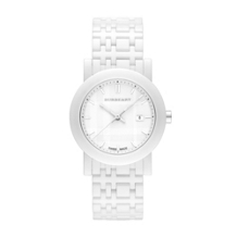 Burberry Women's White Ceramic Watch BU1870