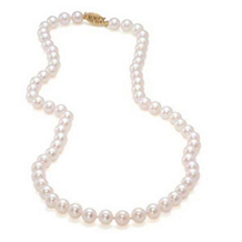 Cultured Pearl Strand (16in )