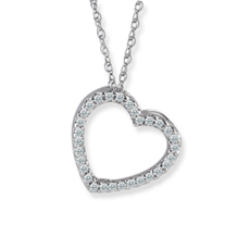 Breathtaking Diamond Heart Pendant
