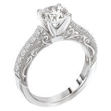 Kranich's Signature Collection Engagement Ring