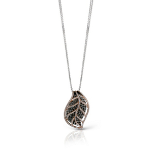 Simon G Brown Diamond Leaf Pendant