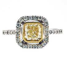 Ladies Fancy Diamond Ring