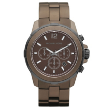 Michael Kors MK8217 Grayson Espresso Chronograph Watch
