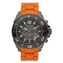 Michael Kors MK8234 Men's Chronograph Drake Orange Watch