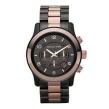 Michael Kors MK8189 Men's Chronograph Runway Two Tone Watch