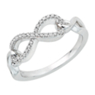 Diamond Infinity Fashion Ring