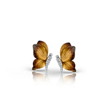 Simon G Organic Allure Butterfly Earrings