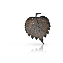 Simon G Organic Allure Grey Leaf Pendant
