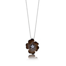 Simon G Flower Pendant Organic Allure Collection