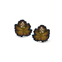 Simon G Organic Allure Leaf Shaped Earrings
