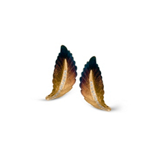 Simon G Leaf Earrings from the Organic Allure Collection
