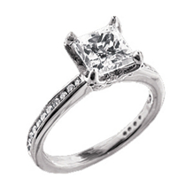 Ritani Setting Diamond Engagement Ring