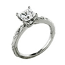 Ritani Romantique Princess Cut Engagement Ring