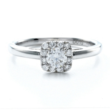 Diamond Engagement Ring With Forevermark® Center