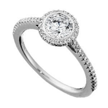 Ritani Bella Vita Solitaire Diamond Engagement Ring