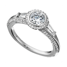 Ritani Bella Vita Diamond Engagement Ring