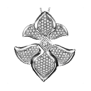 Ritani Diamond Pendant