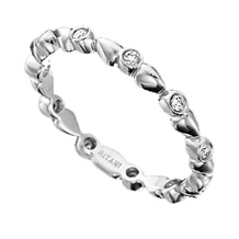 Ritani Diamond Eternity Band Bella Vita