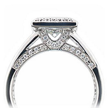 Ritani Endless Love Ring Princess Undergallery