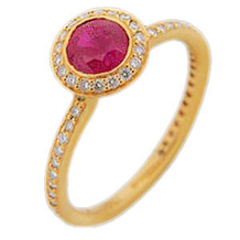 Ritani Endless Love Yellow Gold Ring