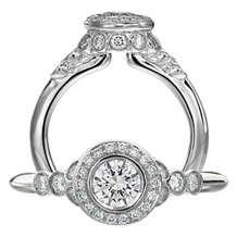 Ritani Endless Love Diamond Engagement Ring