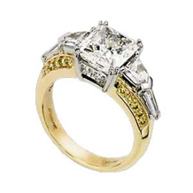 Ritani Masterwork Radiant Diamond Engagement Ring