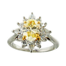 Ritani Masterwork Fancy Yellow Diamond Ring