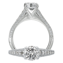 Ritani Modern Diamond Engagement Ring