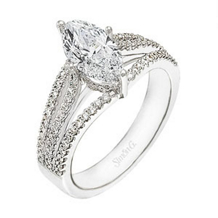 Simon G Marquise Diamond Ring