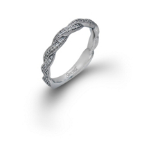 Elegant Simon G Diamond Wedding Band