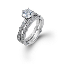 Beautiful Diamond Bridal Set by Simon G MR1546